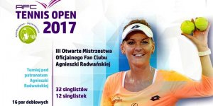 Tennis Open 2017 - plakat