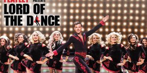 Plakat widowiska Lord of the dance