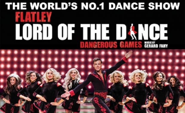 LORD OF THE DANCE - plakat trasy