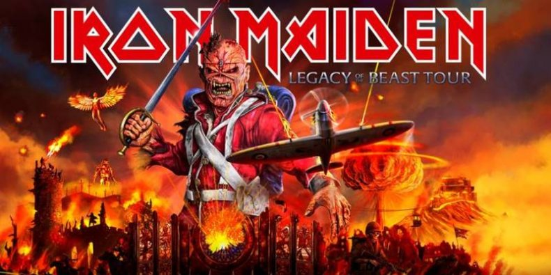 Iron-Maiden - Legacy Of The Beast Tour
