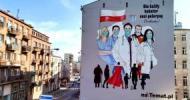 Mural wdzięczności dla Służby Zdrowia