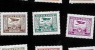 Pierwsze polskie znaczki lotnicze
