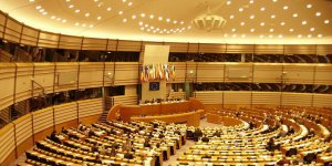 Sala Parlamentu Eusopejskiego w Brukseli