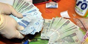 Rozbicie grupy mokotowskiej - zabezpieczone pieniądze