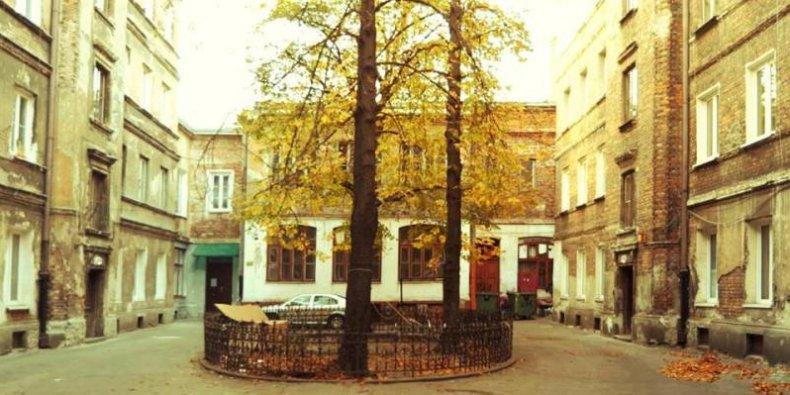 Wileńska 13 - podwórko