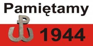 Pamiętamy 1944 i znak Polski Wallczące