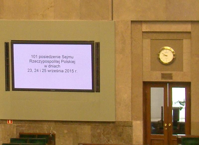 101 sesja Sejmu