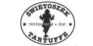 Szyld restauracji Świętoszek w Warszawie