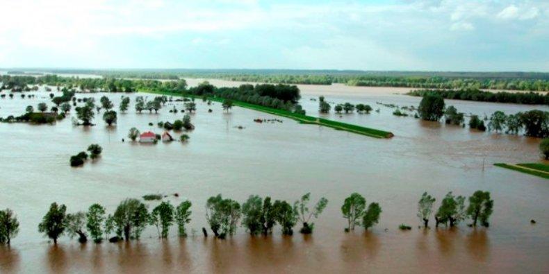 Powódź na Mazowszu - rok 2010
