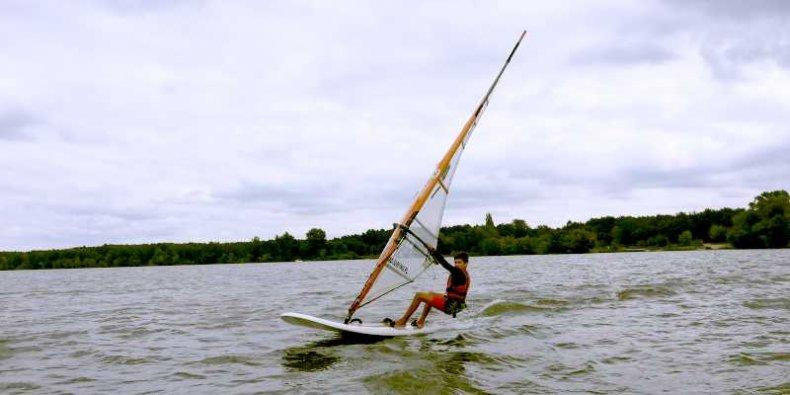 Jakub Bodasiński YKP Warszawa, Windsurfing