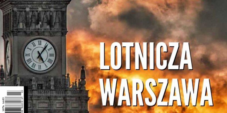 Lotnicza Warszawa - część 1. strony okładki Kuriera Warszawskiego