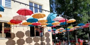 Parasolki na Saskiej Kępie - wspomnienie lata