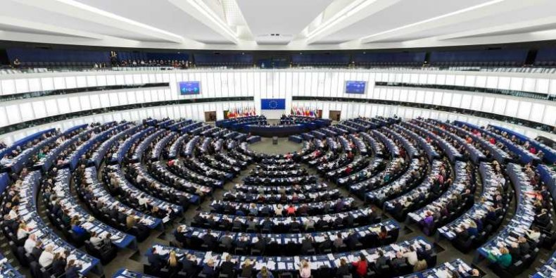 Parlament Europejski w Strasburgu - sala obrad