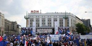 Marsz Koalicji Obywatelskiej Polska w Europie