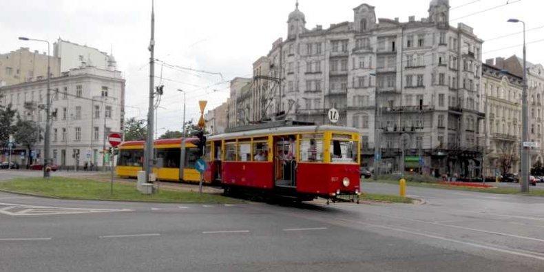 Tramwaje - na pl. Unii Lubelskiej
