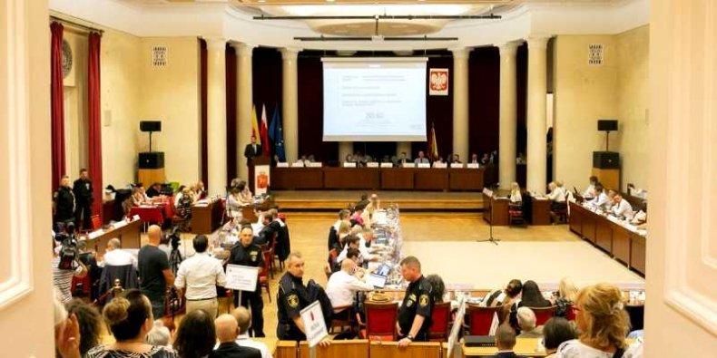 Sesja Rady Warszawy