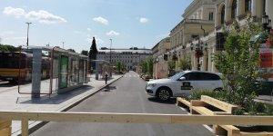 Plac Bankowy - wjazd chroniony