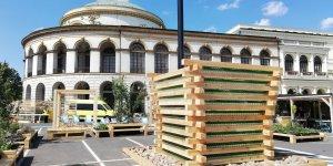 Plac Bankowy - tężnia