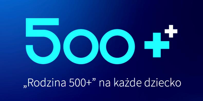 500 Plus - grafika