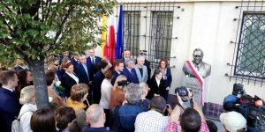 Odsłonięcie pomnika Tadeusza Mazowieckiego