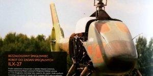 Dron ILX-27 - śmigłowiec robot do zadań specjalnych