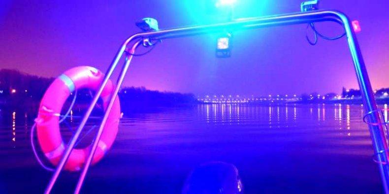 Nocna Policja Rzeczna na warszawskiej Wiśle