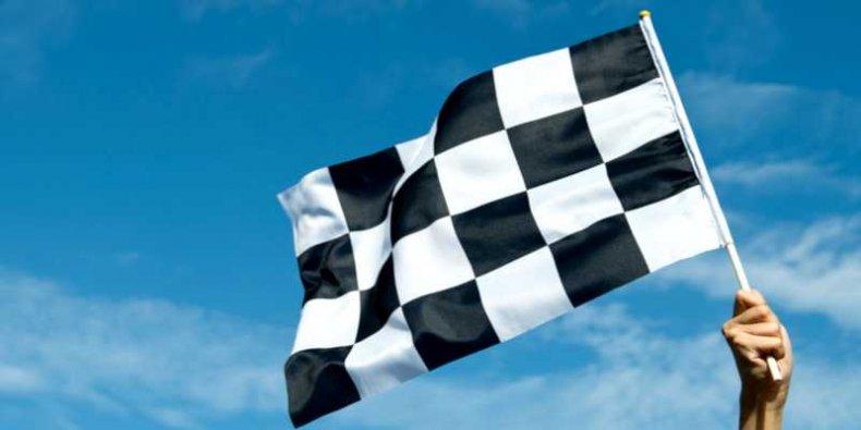 Flaga kończąca wyścig