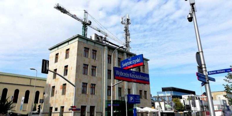 5G na Powiślu - pierwszy maszt sieci 5 generacji w Warszawie