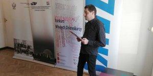 Konkurs Młodych Dziennikarzy - spotkanie prowadził Ireneusz Michał Hyra