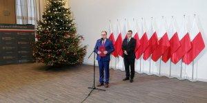 Przekazanie Aktu nadania statusu miasta Czerwińsk nad Wisłą - Mówi Marcin Gortat, burmistrz Czerwińska nad Wisłą