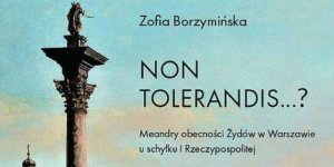 Non tolerandis? Meandry obecności Żydów w Warszawie u schyłku I Rzeczypospolitej - okładka I tomu