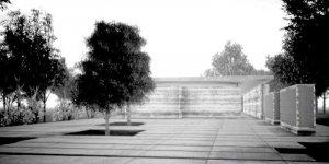 Izba i Mur Pamięci CPW - wizualizacja