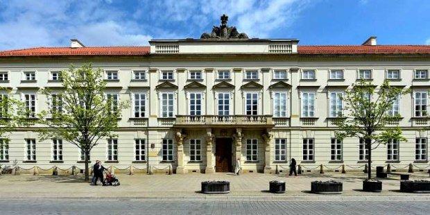 Pałac Tyszkiewiczów Potockich w Warszawie w 2019 - Muzeum Uniwersytetu Warszawskiego