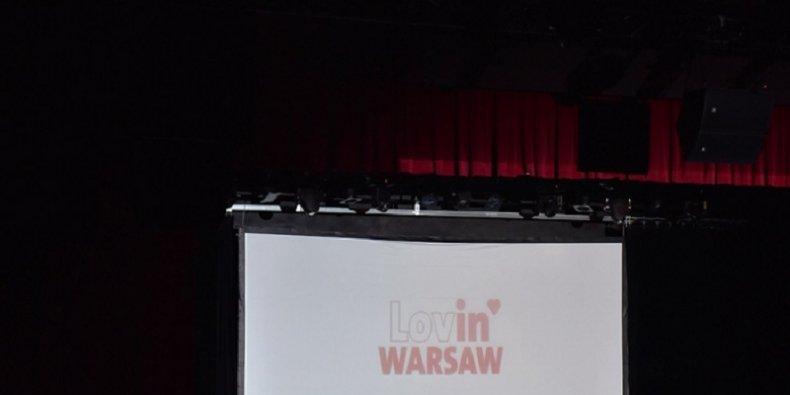 Lovin' Warsaw - plansza tytułowa