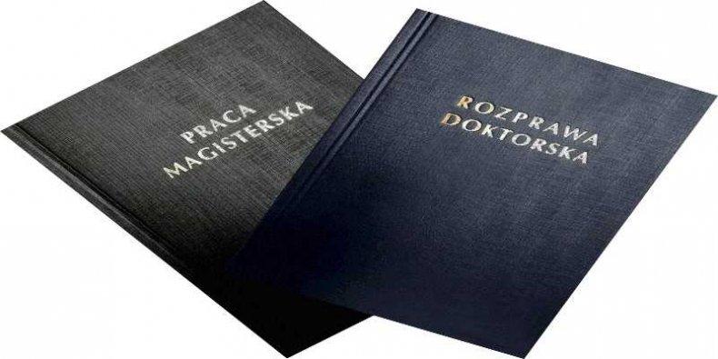 Rozprawy magisterska i doktorska