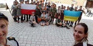 2018 - obóz ze skautami z Ukrainy