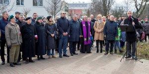 Ursus - uroczystość nadania nazwy Alei Haliny Kifer-Pomykalskiej ps. Kropelka