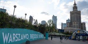 Warszawskie murale z przekazem - Warszawo, będzie dobrze