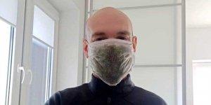 Roślinna maska antygrypowa SGGW
