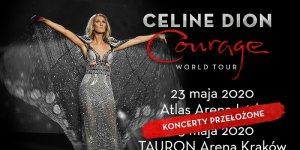 Céline Dion przekłada koncerty