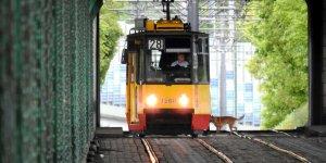 Pasażer. Tunel Mostu Gdańskiego - 3 miejsce w etapie majowym Warszawskiego Konkursu Fotograficznego 2020 r. Autor: Cezary Marek Goliszewski