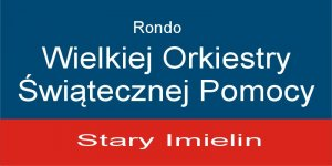 Tabliczka Miejskiego Systemu Informacji: Rondo WOŚP Stary Imielin