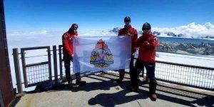 Strażacy w Alpach
