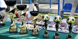 Turniej Dzieci Polonii - Dzieciom - pamiątkowe puchary i medal