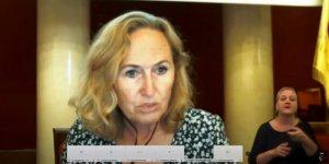 Ewa Malinowska-Grupińska, Przewodnicząca Rady Warszawy prowadzi sesję Rady Warszawy