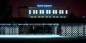Teatr Ochoty nocą