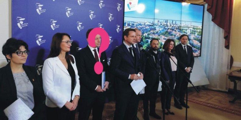 Zarząd Warszawy - kto na miejsce zdymisjonowanego wiceprezydenta?