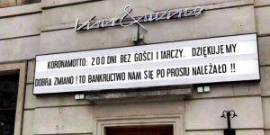 Kur i Wino - Restauracja przy ul. Andersa w Warszawie. Fot Janusz Wąż (FB)