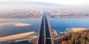 Most Południowy w Warszawie - widok od strony Wawra. Fot. Marcin Banaszkiewicz