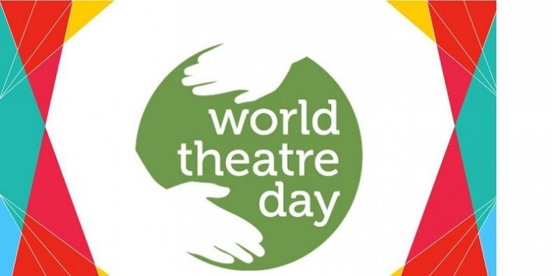 Dzień Teatru 2021 logotyp